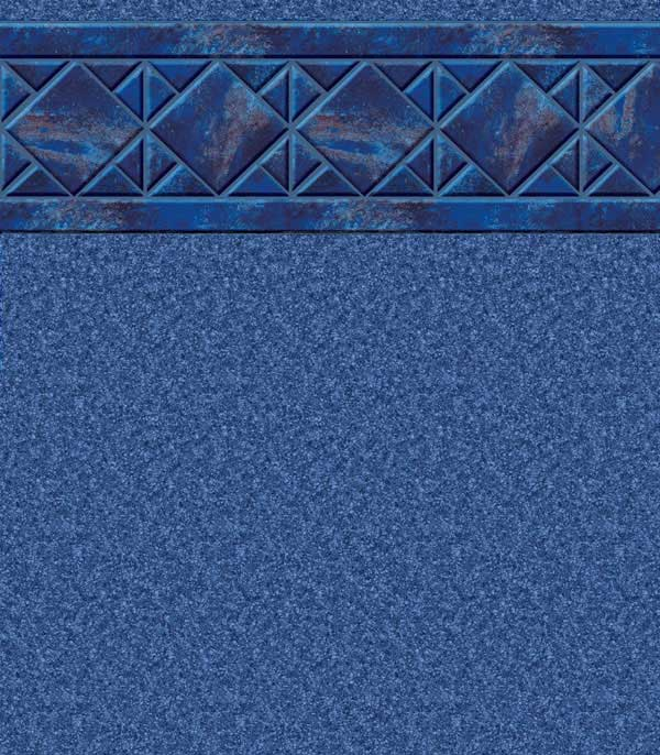 Aruba/Blue Granite - 27 mil