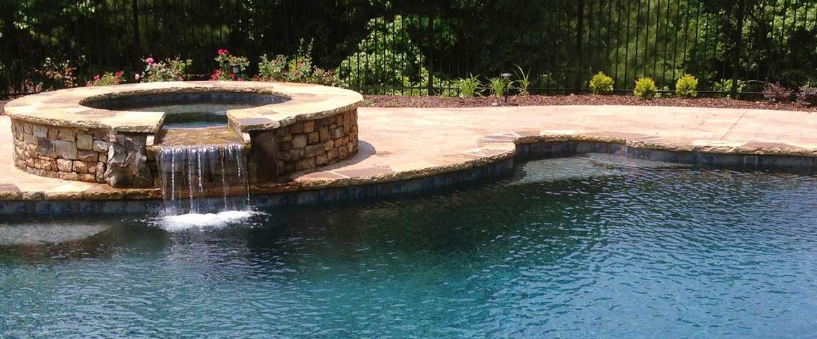 Gunite Pool Details : Gunite swimming pools